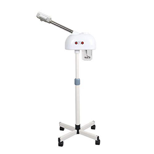 WQSTEAMER Vertikales Gesichtsdampfgerät mit Einzelrohr Thermische Spritzmaschine Schönheitsinstrument Professionelles Instrument zur Hautpflege