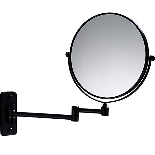 Cavoli 10X Wall Mounted Makeup Mirror 8 Inch Bathroom Two-Sided Swivel,Double Sided -