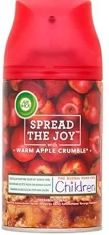 Airwick Nachfüller Warm Apple Crumble für Freshmatic Max - 3er Pack (3 x 250 ml)