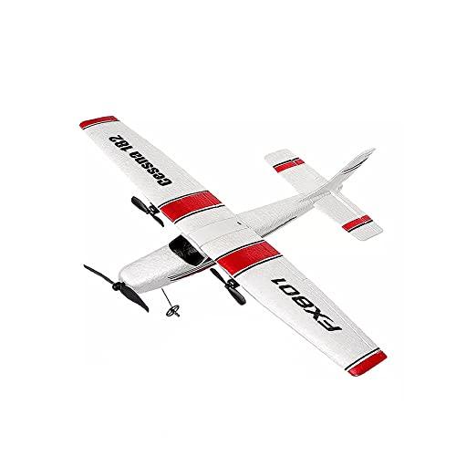 Avión Eléctrico para Principiantes De Juguete De Avión RC DIY, RTF Epp Foam UAV Kit De Avión Planeador De Control Remoto, Regalo para Niños