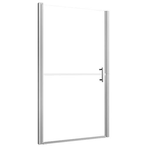 vidaXL Puerta de Ducha Mampara Cabina Cierre Baño Transparente Cristal Accesorios de...