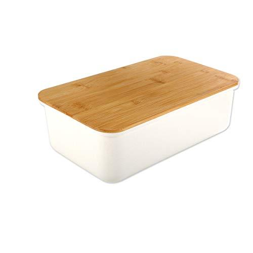 Gräfenstayn® Caja para el Pan con una Tabla de Cortar