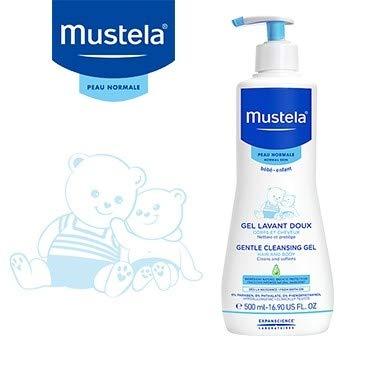 Mustela Gel de baño 2X 500ml