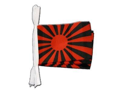 Digni Guirlande 15 drapeaux supporteur rouge noir - 5,9 sticker gratuit