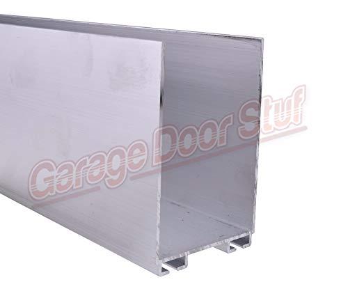 Buy Garage Door Weather Seal Retainer - U Shaped (4-55 Lengths, 3 x 1-3/4)