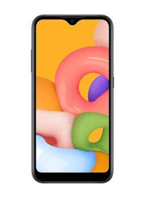 Samsung Galaxy A01 (A015M) 16GB Single SIM, GSM Unlocked, (CDMA Verizon/Sprint Not Supported) Smartphone International Version No Warranty (Blue)