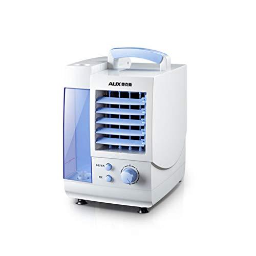FLYFO Mini Tragbar Klimaanlage, Single Kalt Klimaanlage Ventilator Kühlung Verdunstung Kühler Tragbar Klimaanlage Draussen Schlafzimmer Zuhause Studenten Büro