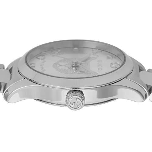 [グッチ]腕時計Gタイムレスシルバー文字盤YA126595レディース並行輸入品シルバー