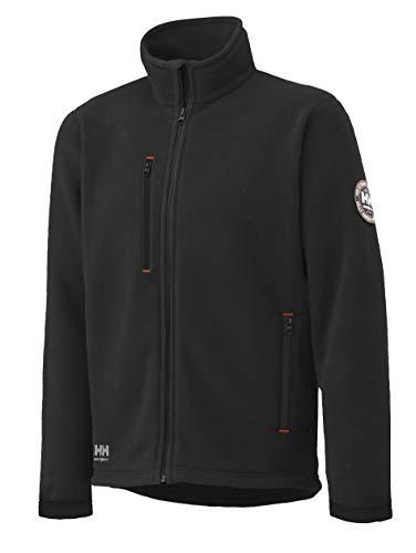 Helly Hansen Polartec Fleece Jacke Langley 72112, Farbe:schwarz;Größe:XL