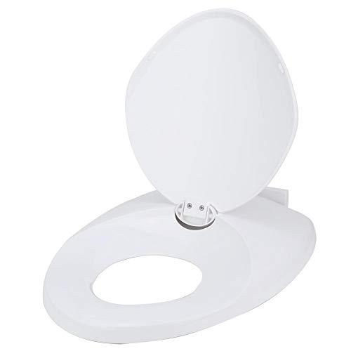 Zerone familie toiletbril, volwassenen baby toiletbril eenvoudig potje training familie toiletdeksel wit