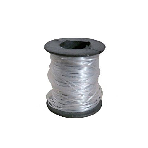 Befaith 0.8mm Ligne de pêche en nylon transparent Spool Beading String Invisible Fishing Thread