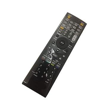 4EVER Replacement Remote Control Fit for Onkyo TX-NR5010 TX-NR3010 TX-NR3030 TR-SC5530 TX-NR515 AV A/V Reviever