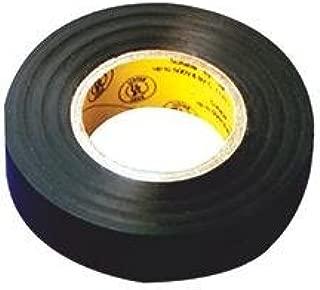 Tape Electrical 3/4 Inch X60 Foot Black Vinyl