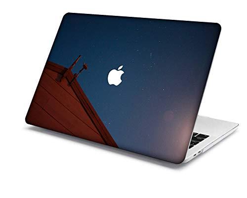 MacBook Pro 13 Funda Modelo:A1708/A1706/A1989/A2159,QiuHuiCase Plástico Cáscara Cubierta Compatible 2016-2019 Lanzamiento MacBook Pro 13 Pulgadas con Touch Bar Touch ID (Galaxia A 54)