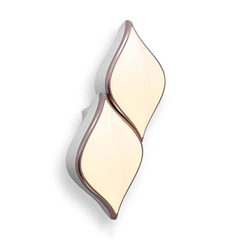 Spots muraux Applique Goutte d'eau Diamond 2 Link Lampes Lampe De Chevet De Chambre Applique Murale Couloir Couloir Creative Lampe Nordique Lampe en Fer Forgé (Color : Blanc, Size : 20 * 30 * 10cm)