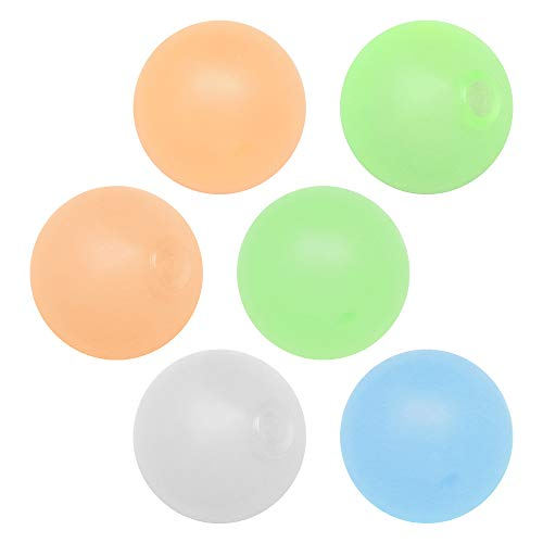 ZoneYan Bola Pegajosa Fluorescente, Globbles pegajosos, Globbles Juguetes de Bola Adhesiva, Bola de Pared Pegajosa Fluorescente, Fluorescente Sticky Target Wall Balls, Sticky Balls para Adulto y Niño