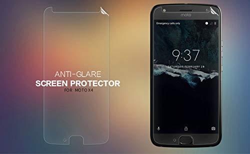 Nillkin Screen Guard for Motorola Moto X4 Whole Set Version Matte Anti Glare Front + Back Film + Camera Sticker