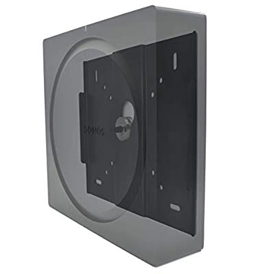 ProCustom TV Mount for Sonos Beam | For use with fixed and pivoting TV brackets | Fits all VESA mounting sizes | Made in the UK by ProCustom (Black - Mounted on TV) by ProCustom