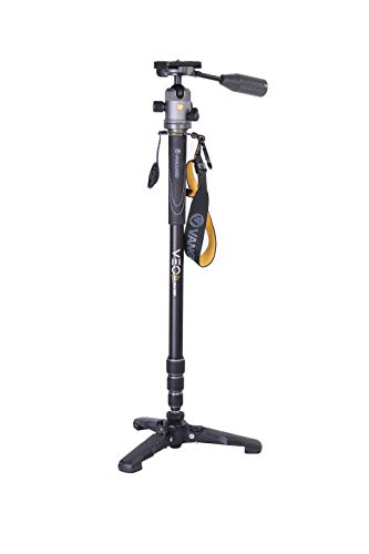 VANGUARD VEO 2S AM234-TBP Monopod with Ball Head and Removeable Pan Handle