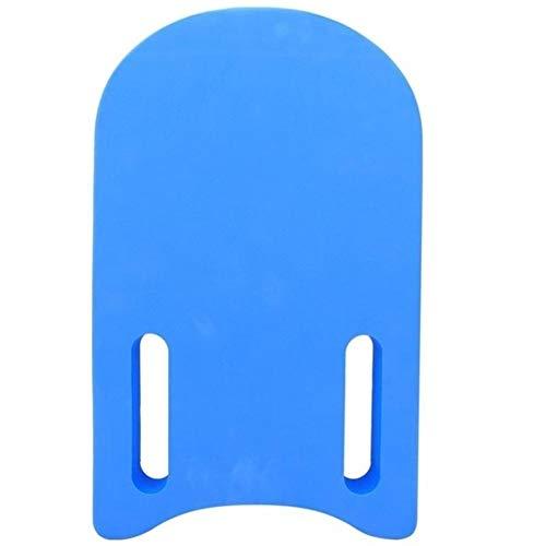 XINGJIJIJIA Hohe Festigkeit Gummi Kickboard Freien Kinder Erwachsene Schwimmender Kickboard Swim Training Board Wasser Fitness Sport Versorgung Boot Großartig (Color : Blue)
