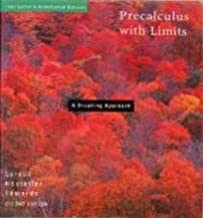 Interactive Precalculus with Limits : A Graphing Approach, Teacher's Edition