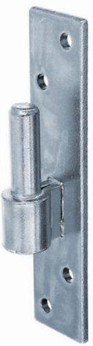 GAH-Alberts 306809 klemmen op plaat, DI-haken Dorn 14 mm / 130 x 40 mm Galvanisch Blau Verzinkt