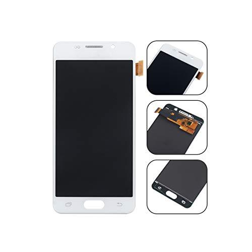 YHX-OU für Samsung Galaxy A3 SM-A310F 2016 A310 LCD Display Touchscreen Ersatz Bildschirm mit Komplett Werkzeug (Weiß)