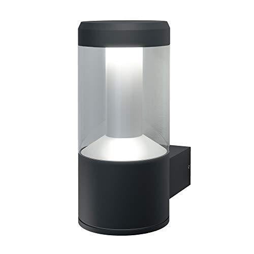 OSRAM Smart+ LED Wandleuchte, ZigBee, dimmbar, warmweiß bis tageslicht, RGB Farbwechsel, Direkt kompatibel mit Echo Plus und Echo Show (2. Gen.), Kompatibel mit Philips Hue Bridge