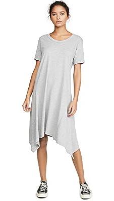 Wilt Women's Long Slim Gusset Dress, Grey Heather, Small