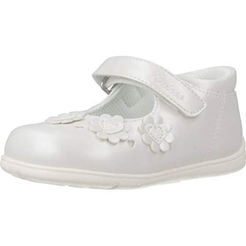 Chicco Zapatos Ceremonia Ninas Merceditas Gery para Niñas Blanco 21 EU