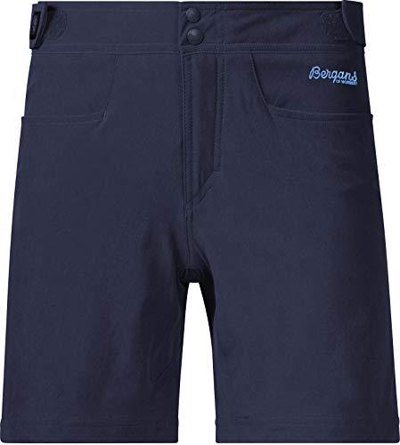 Bergans Cecilie Pantalones de Escalada Mujer, Navy Melange/Cloud Blue Talla M 2019 Pantalones Cortos