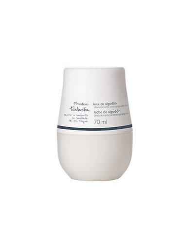 Linha Todo Dia Natura - Desodorante Antitranspirante Leite de Algodao Roll-On 70 Ml - (Natura Every Day Collection - Cotton Milk Roll-On Antiperspirant & Deodorant Net Fl 2.36 Oz)