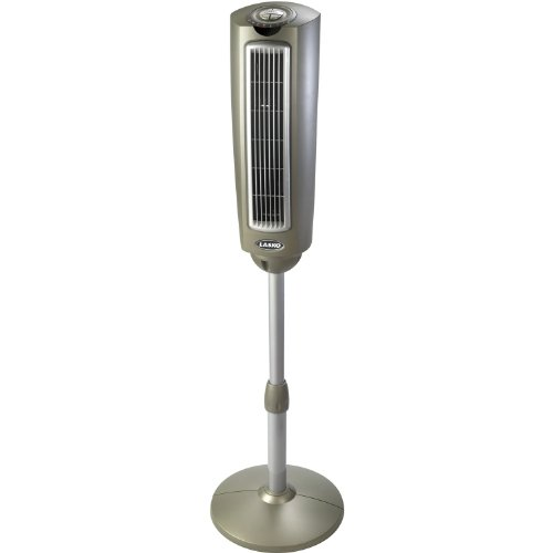 Lasko 52 ENERGY EFFICIENT Oscillating Tower Fan with Built-In Timer and 3 Speeds, Remote Control Included by Lasko