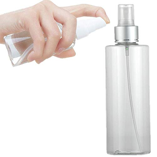 HEELPPO Spray Vide Flacon Spray Vide Spray Bottle Flacon Vide Flacon Recipient Cosmetique Maquillage Shampooing Nettoyant pour Le Visage pour La Maison Et L'utilisation De Voyage White