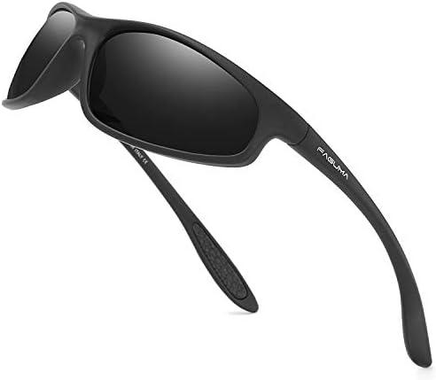 FAGUMA Polarized Sports Sunglasses For Men Cycling Driving Fishing 100 UV Protection product image
