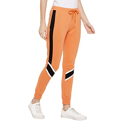 Alan Jones Clothing Women's Solid Joggers Trackpant