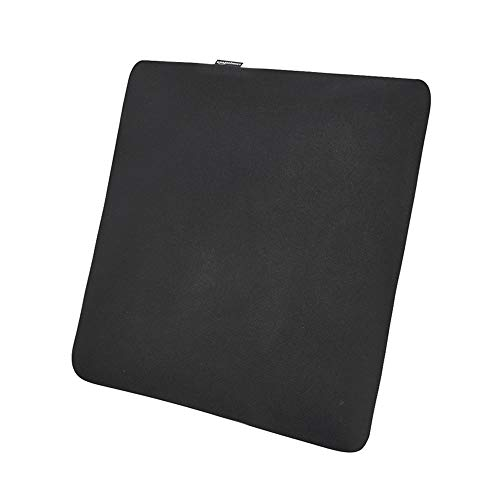AmazonBasics Memory Foam Seat Cushion - Black, Square