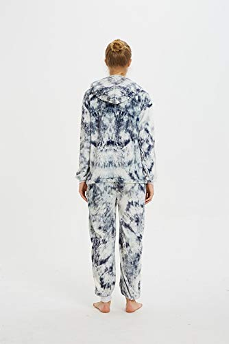 Emmarcon - Pijama Kigurumi - Pijama modelo animalito - Mono enterizo - Ideal incluso como disfraz de Halloween, para fiestas cosplay, etc - Pijama unisex para adulto Gato 3D XL