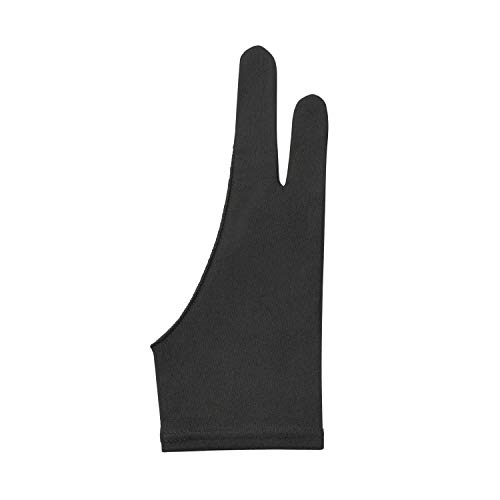 液タブ手袋 二本指グローブ (左右兼用 4枚セット・S M Lの3サイズご用意致しました) 製図 液タブ 手袋 イラスト グローブ 『 タブレットの誤作動防止 お絵描きの滲み防止にお使いください! 』 ペンタブ手袋 Happy Island (Small)