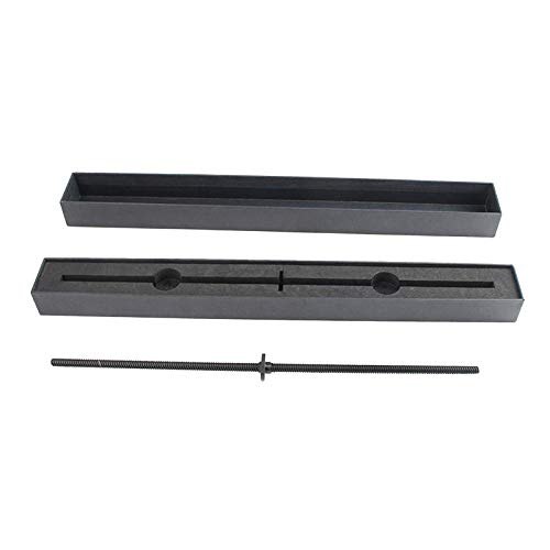 KESOTO Varilla de Tornillo de T8 PTFE Negro de 20,5 Pulgadas 8 Mm para Impresora 3D X1
