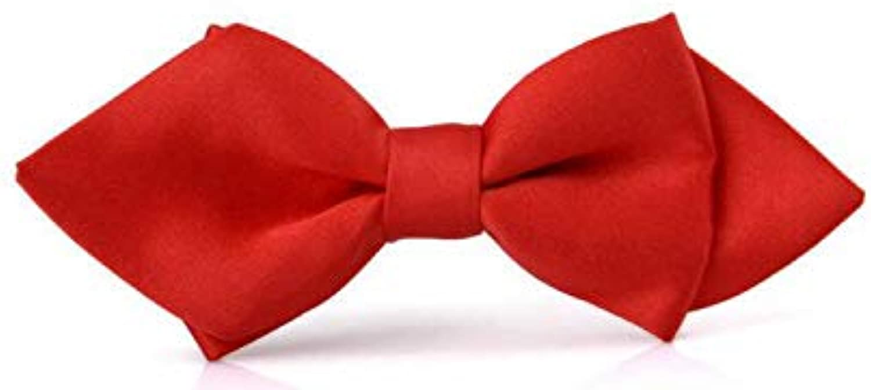 Fancy Dog collarsPet Medium Dog Tie Cat Dog Polyester Tie Dog Adjustable Necklace,Big redleather Dog Collars for Medium Dogs