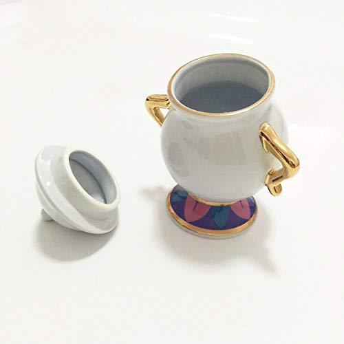 1 Stks Suikerpot, Cartoon Schoonheid En Het Beest Theeset Theepot Mevrouw Potten Pot Chip Cup Mok Suikerkom Pot Cadeau voor Vriend