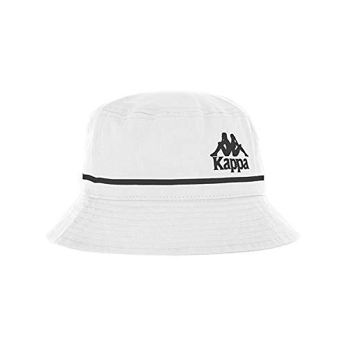 Kappa Bucketo Authentic Gorro, Sin género, Blanco, Talla única