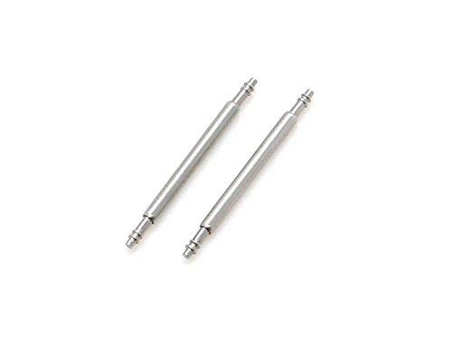 Federstege (1 Paar) passend für die Stegbreite 22mm MyHez-fs02/D015/1Paar/22mm