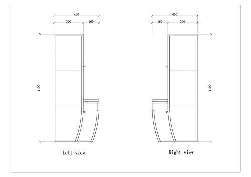 Badmöbel Set Badezimmermöbel Komplett Bild 5*
