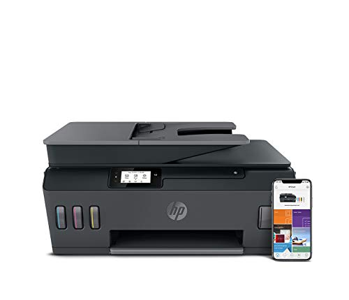 HP 5HX14A Smart Tank Plus 570 Multifunctionele Printer, Scanner, Kopieerapparaat, Wi-Fi, Airprint, Zwart