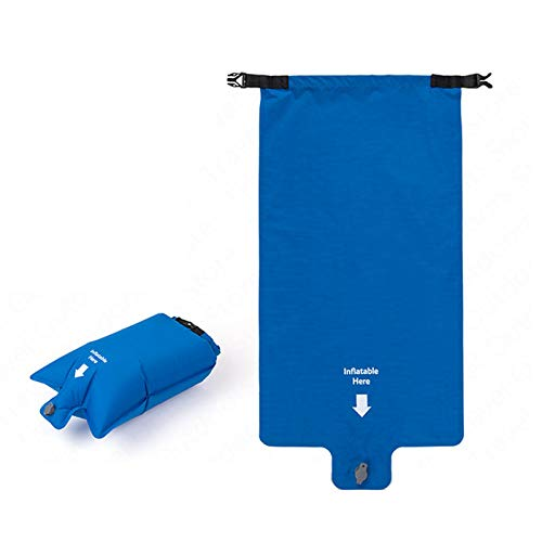 AIHOUSE Camping Mat, Ultralight Inflatable Mattress 2 Person Sleeping Pad Portable Air Mat for Outdoor Camping Hiking,Blue,1 inflatable bag