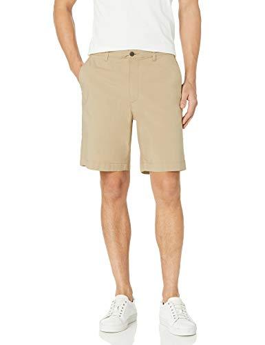 Amazon Essentials Regular-fit Lightweight Stretch 9' Short, Khaki, 34