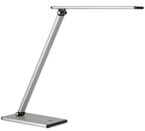 UNILUX 400077409 LAMPE TERRA LED GRIS METAL EU EU, Aluminium, Intégré, 5 W, 38 x 30 x 18 cm