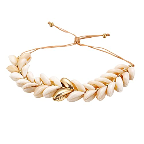 Holibanna Bohemian Hawaiian Beach Seashell Bracelets for Women Party Vintage Conch Anklet Bracelet Beach Ocean Theme Jewelry